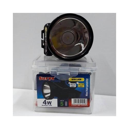 SURYA Lampu Senter Kepala LED SYH L-438
