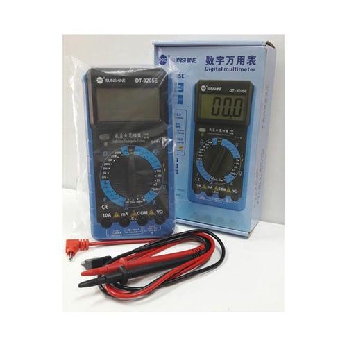 SUNSHINE Multimeter Digital DT-9205E