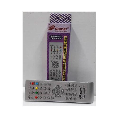 NEWSAT Remote Poly + Digit