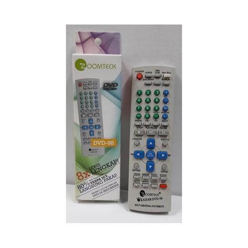 ZOOMTECK Remote DVD Multi DVD-98