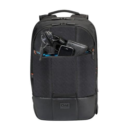 TARGUS Tas Laptop 16-inch Grid Essential 27L Backpack - Black