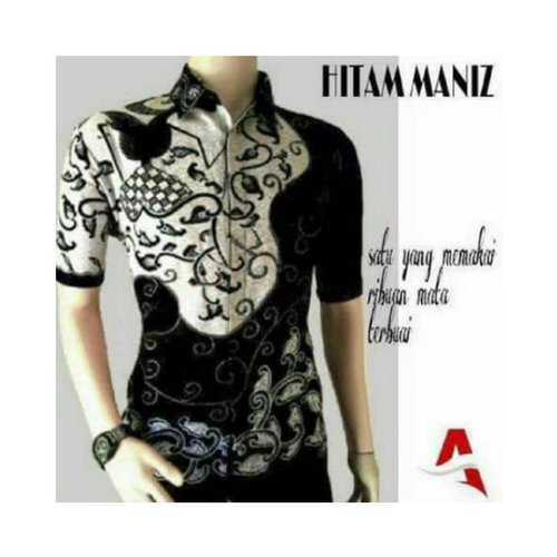 Batik Hitam Manis Series Motif 1