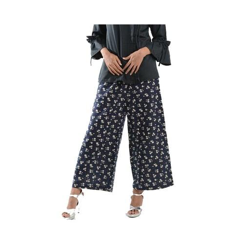 Celana Panjang Wanita Kulot Batik Modern