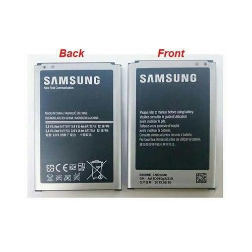 SAMSUNG Baterai Note 3 B800BE Original