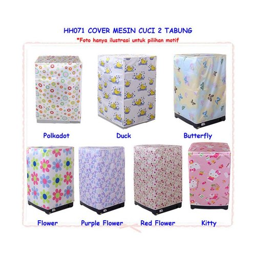 Cover Mesin Cuci 2 Tabung HH071