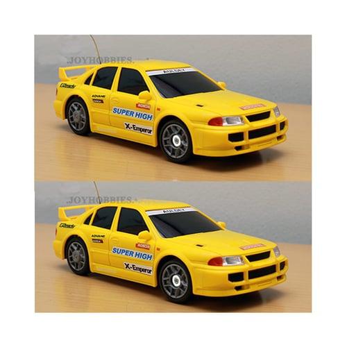 AULDEY Drift Lancer Evolution 3 Yellow 1:24