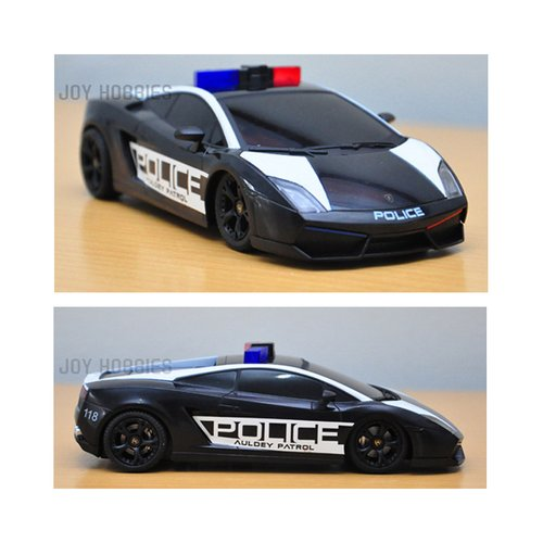 AULDEY Licensed Lamborghini Gallardo Police 1:28