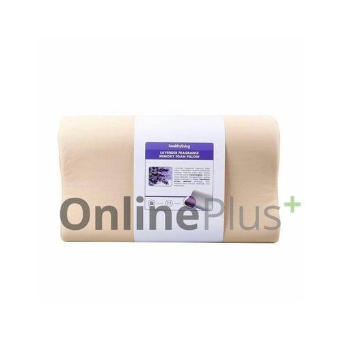 Healthy Living Bantal Kesehatan Lavender Memory Foam Squishy Original Guarantee