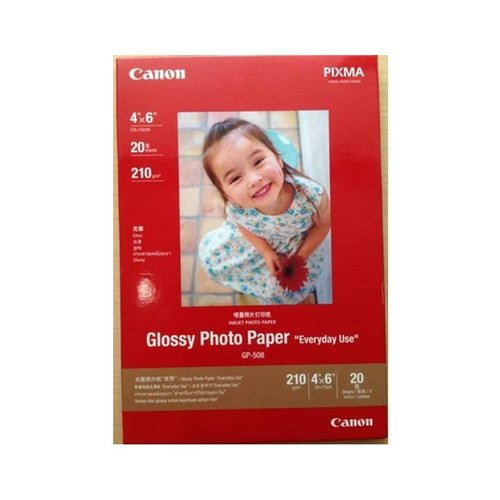 CANON Glossy Paper GP508 4x6 Inch 20 sheets