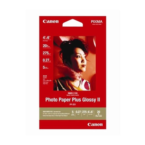 CANON Photo Paper PP201 4x6 Inch 20 sheets