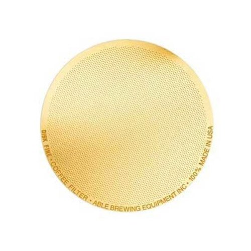 Able Disk Coffee Filter Fine Gold