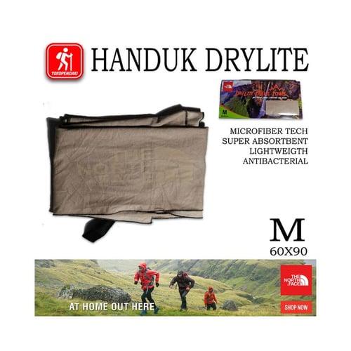 The North Face Handuk Ultralight Outdoor Towel Microfiber Drylite TNF 60x90 M
