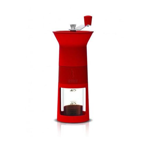 BIALETTI Grinder Macinacaffe Red