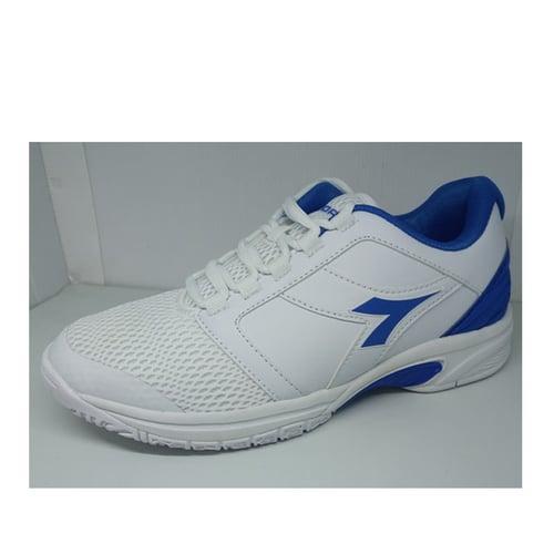 Diadora Sepatu Original Forhen White/ Blue