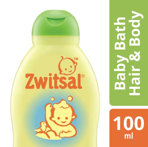 Zwitsal Baby Bath Natural 2in1 Hair Body 100ml