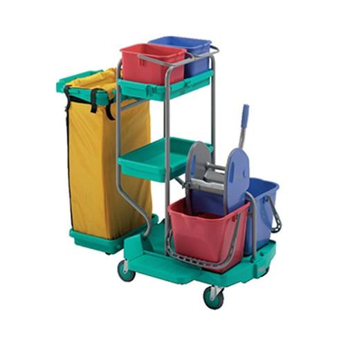 KLENCO Top Mega Janitorial Cart KWJC2420
