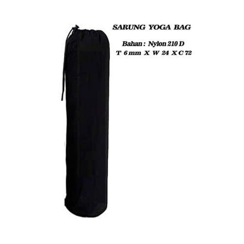 BODY GYM Yoga Bag Hitam