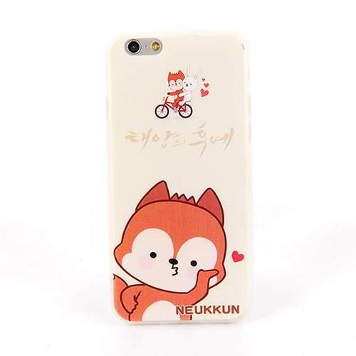 Neukkun Fox Pattern DOTS Iphone 6 White RB8F7C 6pcs
