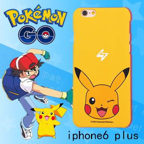 Pokemon Monster Pattern Iphone6 Plus Yellow RB5A5B 6pcs