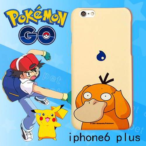 Pokemon Monster Pattern Iphone6 Plus Cases Light Khaki 6pcs