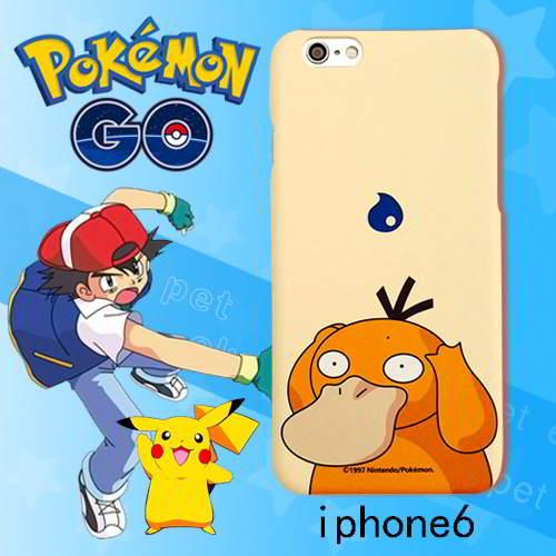 Pokemon Monster Pattern Iphone6s Cases Light Khaki 6pcs