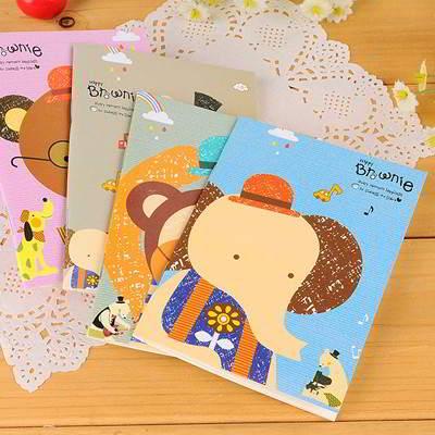 Cartoon Animals Design Color Random SB6DA5 6pcs