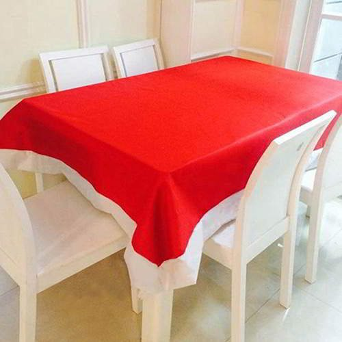 Color Matching Square Tablecloth RC8E87 Red 6pcs