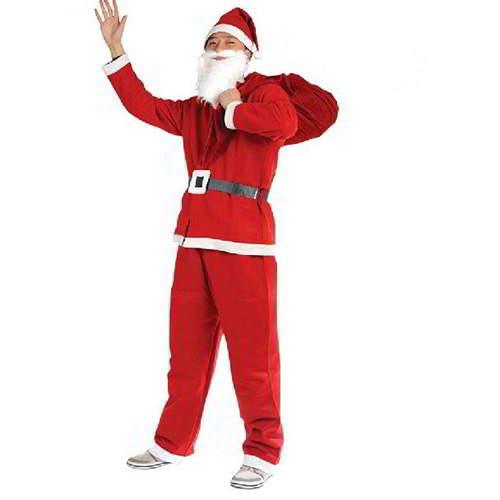 Square Hasp Color Matching Santa Clothes RC8E88 Red 6pcs