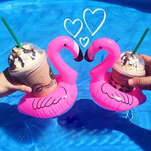 Swan Design Cola Cup Holder 6pcs RBDEAA-Pink