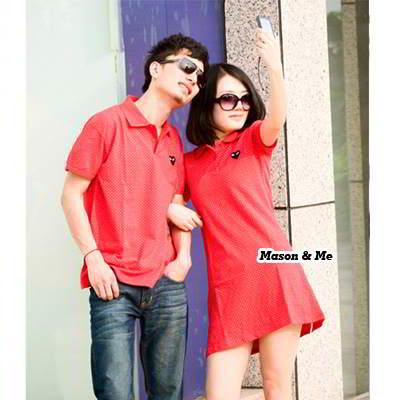 Dress Man T Shirt General SA5F87 Red 6pcs