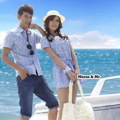 Dress Man T Shirt General SA5FFD Light Blue 6pcs