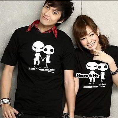 T Shirt Two Pieces In One General QFF8FF Black 6pcs