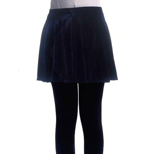 Simple Pleated Skirt RBEDD7 Navy Color 6pcs