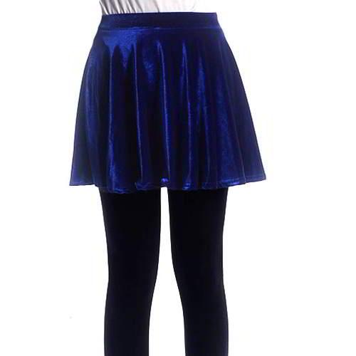 Simple Pleated Skirt RBEDD5 Sapphire Blue 6pcs