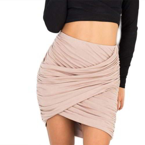 Fold Cross Skirt RBD56A Apricot 6pcs