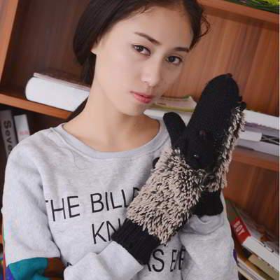Hedgehog Shape Simple RA8686 Black 6pcs
