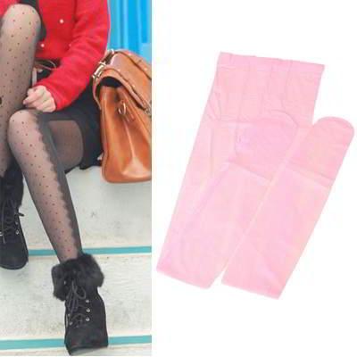 Dot Lace Design R8FC7B Pink 6pcs