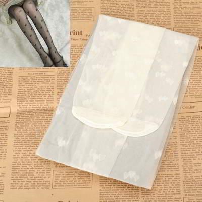 Double Heart Design R8FC6C White 6pcs