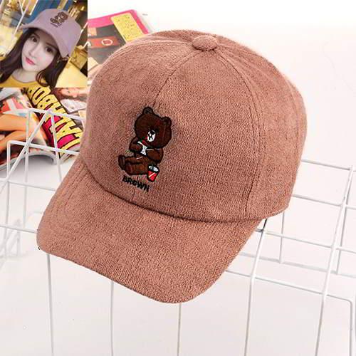 Bear Simple RCFFE8 Pink 6pcs