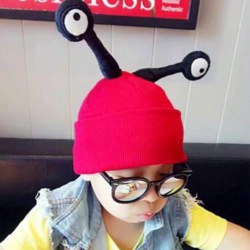 JRK Kids Snails Eyes Shape RCF88C Red 6pcs