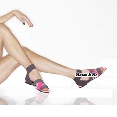 Comt Elastic Flats Sandals General SABFBD Red