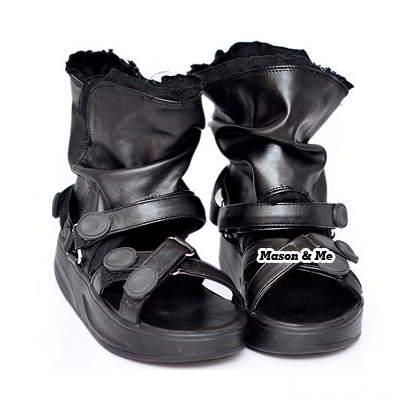 Fashion Pur Color Platm Sandal General SABF5A Black