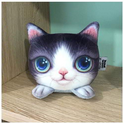 Kitten Big Eyes Cat Pattern Decorated RBF7ED Purple