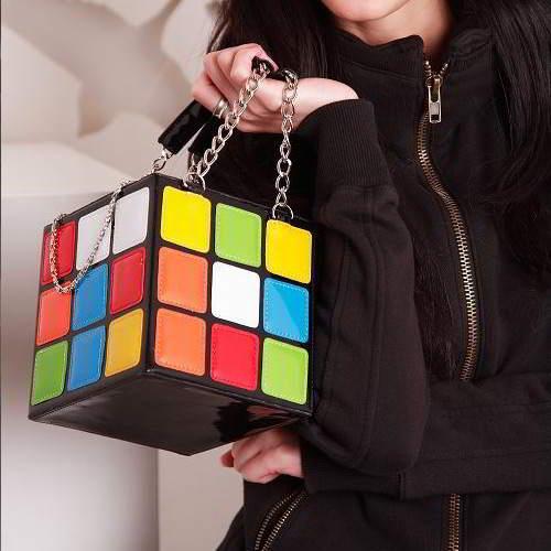 Suare Magic Cube Design Simple Hand RC757E Multi Color 6pcs