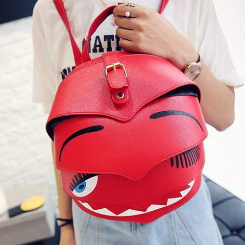 Cartoon Ladybird Backpack RBBDC8 Red 6pcs