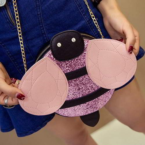 Color Matching Bee RBBD5C Pink 6pcs
