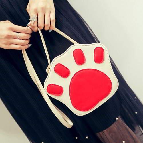 Cartoon Shoulder Bag RBDA6A Red 6pcs