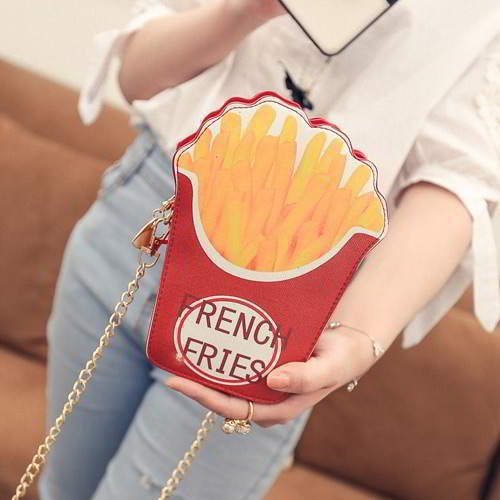 French Fries Shape Bag RBCCBC Red 6pcs