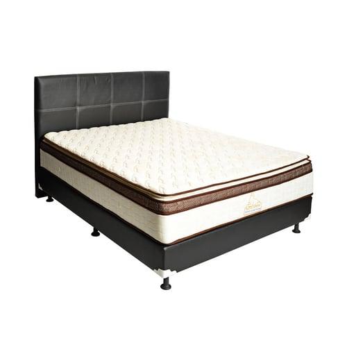 MATTO Springbed Chikyu Pillowtop Full Set 180 x 200cm Cream