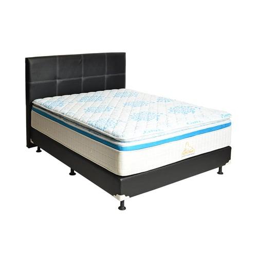 MATTO Springbed Sora Pillowtop Full Set 120 x 200cm Biru